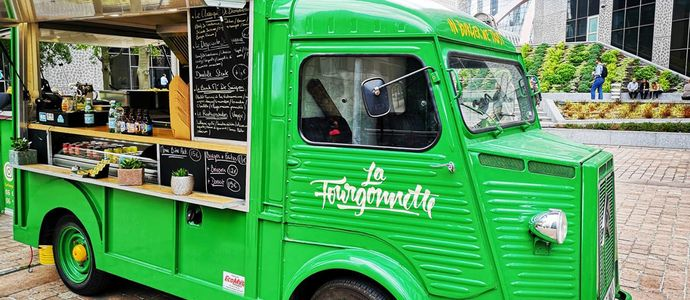 La Fourgonnette - Food Truck de Paris La Défense