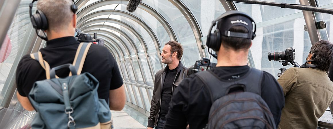 Organise your filming or photo shoot in Paris La Défense
