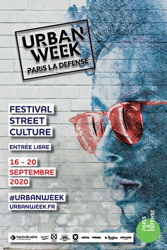 Affiche de l'Urban Week 2020 de Paris La Défense
