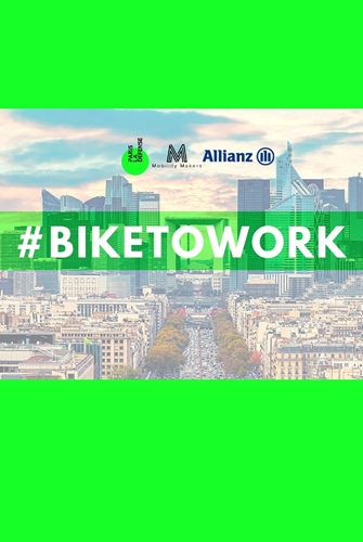 Bike to work  à Paris La Défense