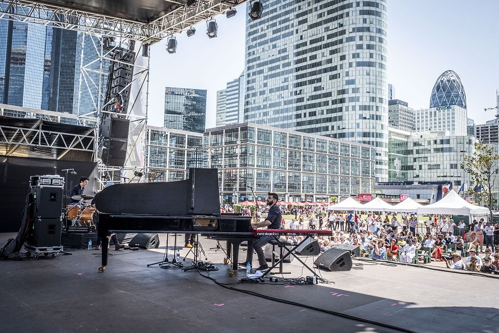 La Défense Jazz Festival 2019 © CD92 Willy Labre