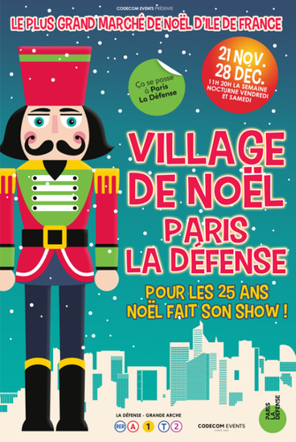 Village de Noël de Paris La Défense 2019