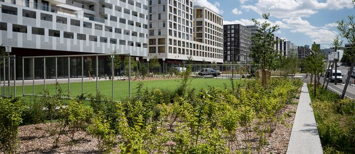 "Nanterre Cœur de Quartier obtains the ""BiodiverCity® Ready"" label"