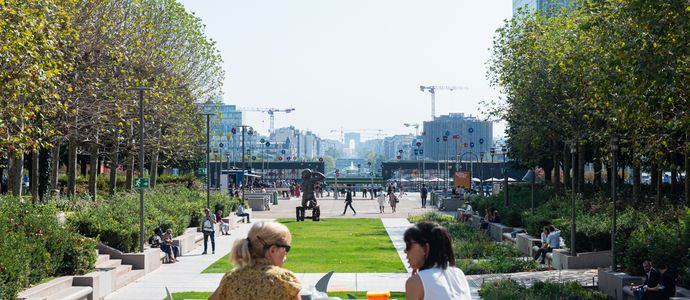Le Parc - The Michel Desvigne Paysagiste group will plant the esplanade © PLD - Constance Decorde