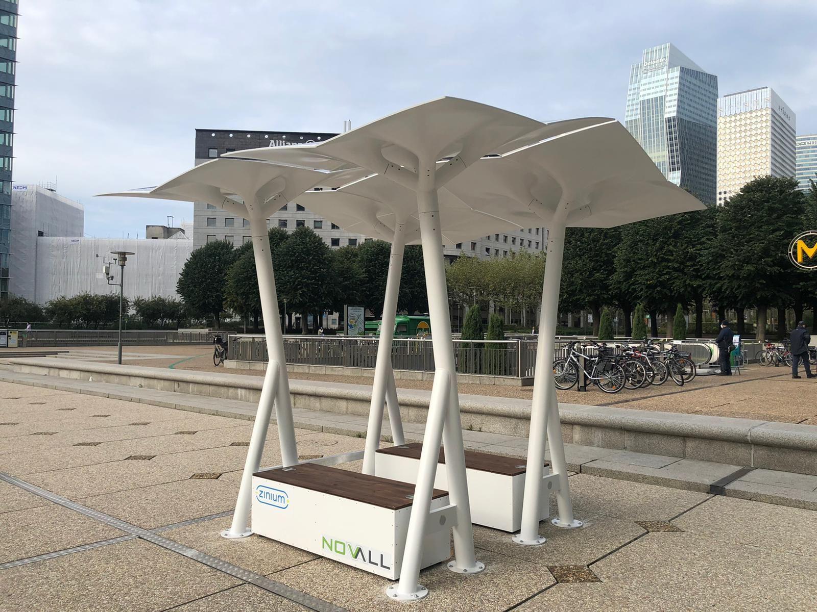 Oasis énergétiques Paris La Défense - Les Arbres Sol'Air