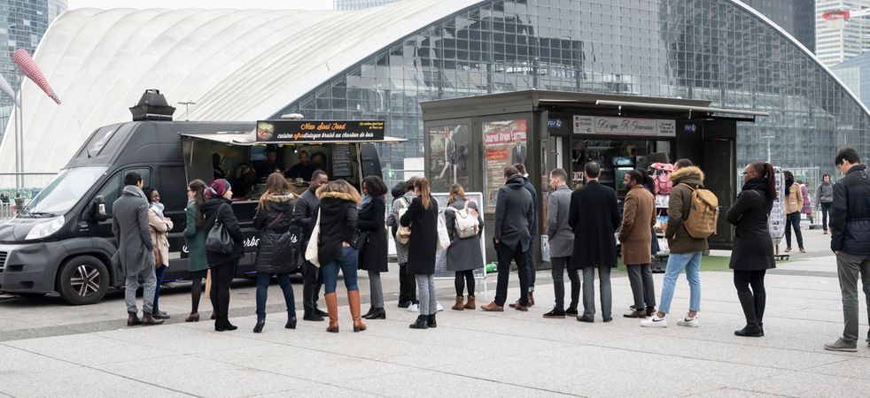 Les Food Trucks de Paris La Défense