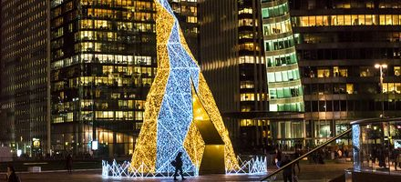 Les illuminations de Noël à Paris La Défense 2019
