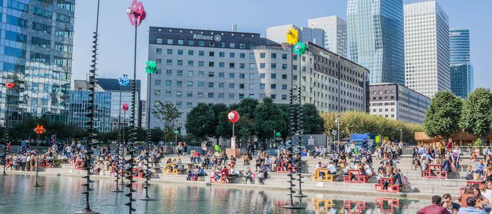 What's news in September in Paris La Défense ?